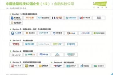 苏宁金融入选艾瑞咨询2020年中国金融科技50强企业榜单